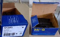 Задние тормозные колодки SP2081 (фирма Hi-Q, Корея) для Toyota RAV 4