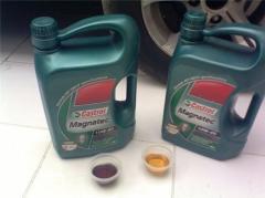Разница в цвете поддельного и оригинального масла