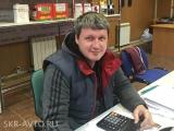 руководитель отдела запчастей Алексей Чёрненький